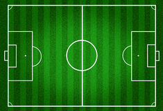 Football filed Royalty Free Stock Images