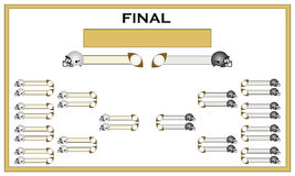 Football finals Royalty Free Stock Photos