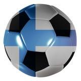 Football Finish Royalty Free Stock Photo
