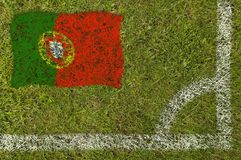 Football Flag Stock Image