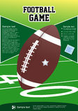 Football flyer Stock Images