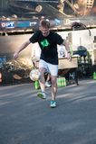Football Freestyle competitions Stock Images
