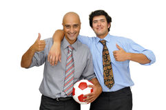 Football fun Royalty Free Stock Image