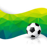 Football game design. Vector football design art background Royalty Free Stock Images