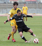 Football game between Eordaikos and Paok Stock Photo