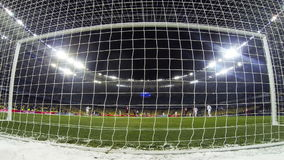 Football game FC Dynamo Kyiv v Besiktas stock video