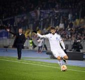 Football game FC Dynamo Kyiv vs FC Everton Stock Image