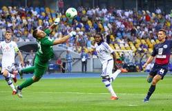 Football game FC Dynamo Kyiv vs FC Sevastopol Royalty Free Stock Photography