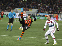 Football game Shakhtar Donetsk vs Bayern Munich Stock Photo