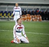 Football game Shakhtar Donetsk vs Bayern Munich stock images