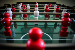Football. Game on the table Royalty Free Stock Photo