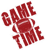 Football Game Time Royalty Free Stock Image