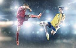 Football game Stock Photos
