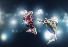 Football game Royalty Free Stock Images