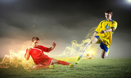 Football game Royalty Free Stock Photo