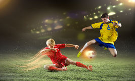 Football game Royalty Free Stock Photos