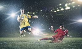 Football game Stock Photography