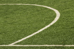 Football gaming sports field Stock Photos
