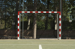 Football gate Stock Image