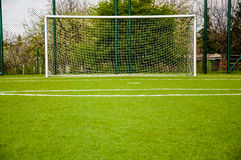 Football gate Royalty Free Stock Images
