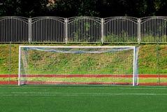 Football gate. Stock Image