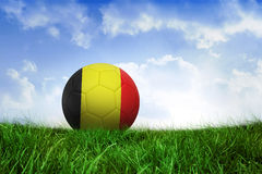 Football in germany colours Royalty Free Stock Photography