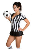 Football Girl Royalty Free Stock Images