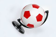 Football - globe Stock Image