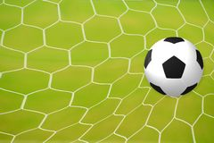 Football goal, goal, goal! Royalty Free Stock Photos