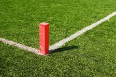 Football Goal Marker Royalty Free Stock Photo