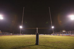 Football goal post Stock Images