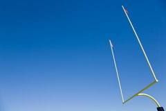 Football Goal Post Royalty Free Stock Images