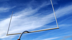 Football goal post Royalty Free Stock Photography