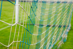 football goal on the stadium Royalty Free Stock Images