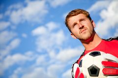 Football goalkeeper Royalty Free Stock Image