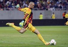 Football goalkeeper Stock Image
