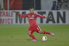 Football goalkeeper - Anthony Lopes stock images