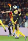 Football goalkeeper, Ciprian Tatarusanu stock photo
