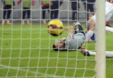 Football goalkeeper Royalty Free Stock Images
