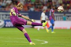 Football goalkeeper - Giedrius Arlauskis stock photography