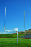 Football Goalpost Royalty Free Stock Photo