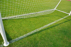 Football goals Stock Images