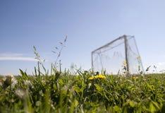 Football goals Stock Photo