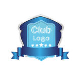 Football golf baseball Club logo  symbol Royalty Free Stock Images