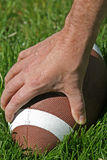 Football in grass Stock Photos