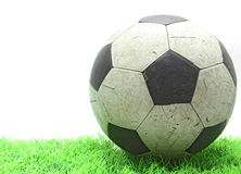 Football on grass Royalty Free Stock Photography