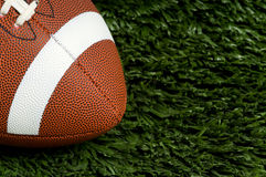 Football on Grass Stock Images