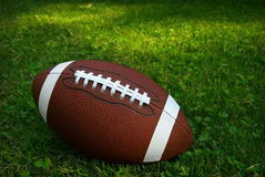 Football on grass Royalty Free Stock Photo
