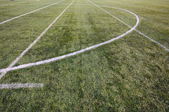 Football grass Royalty Free Stock Images