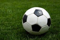 Football on grass Royalty Free Stock Photo